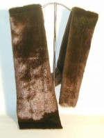 Tip-Dyed Mink Scarf Kit - Product Image