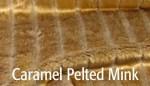 Caramel Pelted Mink - Product Image