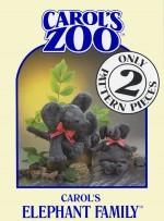Elephant Family Pattern - Product Image