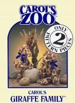 Giraffe Family Pattern - Product Image