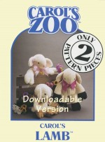 Lamb Pattern - Instant Download - Product Image