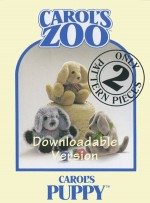 Puppy Pattern - Instant Download - Product Image