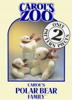 Polar Bear Family Pattern - Product Image